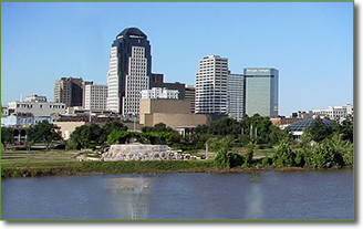 Downtown Shreveport